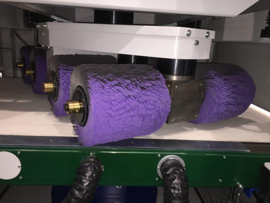 Neue Rotor-Verrundungsmaschine von GECAM