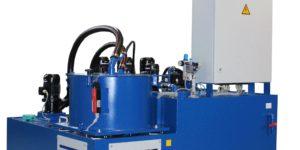 Zentrifuge zur Aufbereitung der Emulsion bei Entgratmaschinen